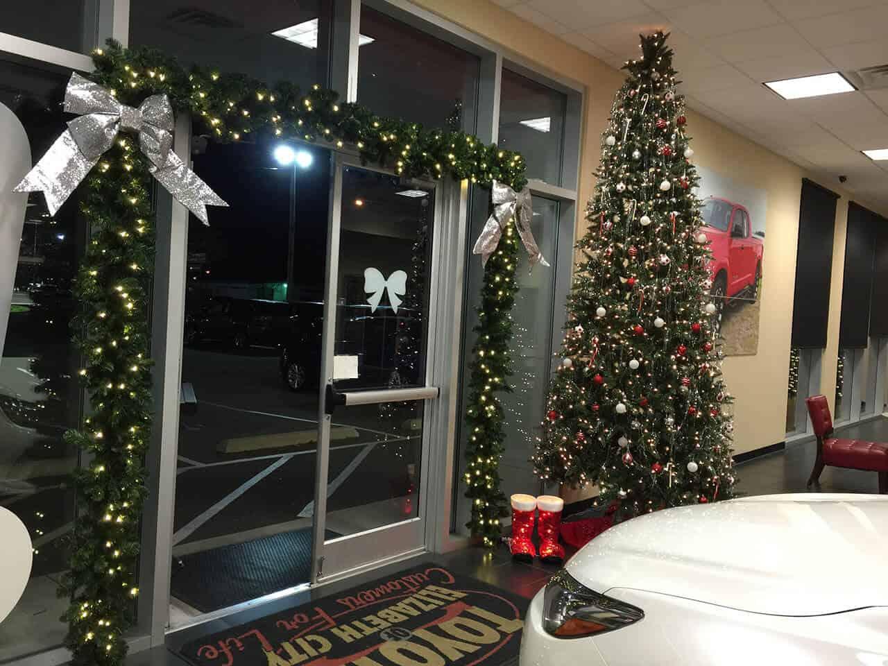 Christmas Business Decorations.Our Gallery Coastal Virginia Christmas Decor
