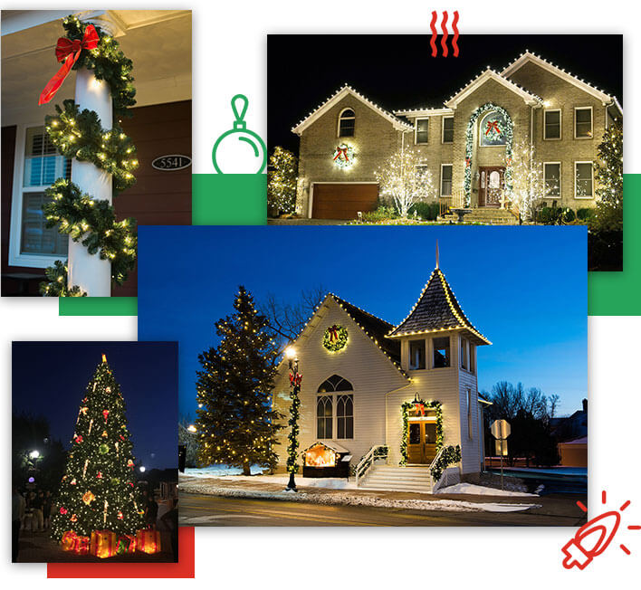 commercial outdoors holiday displays - Commercial Christmas Decorations Canada