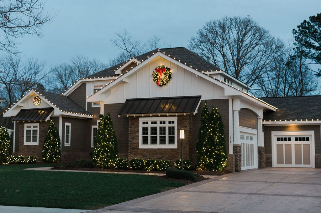 Residential Holiday Lighting. We set up outdoor Christmas decorations ...